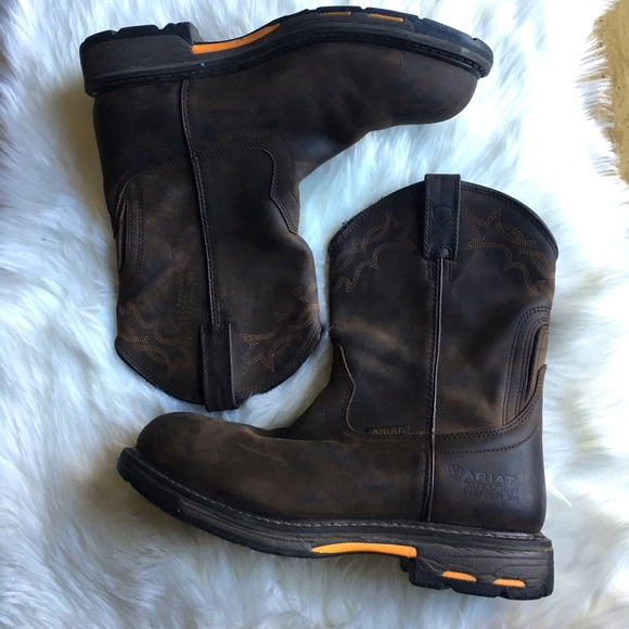 fcdab62ad27 🏇🏻Mens Ariat Boot Size 10.5
